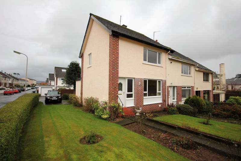 2 Bedrooms End Of Terrace House for sale in WALKERSTON AVENUE, LARGS KA30