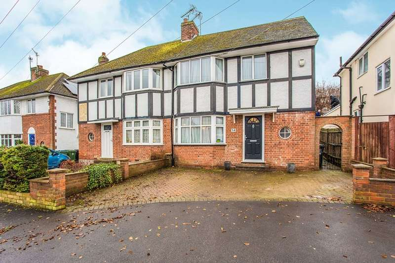 4 Bedrooms Semi Detached House for sale in Tavistock Road, Watford, WD24