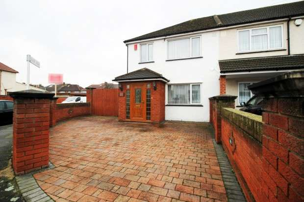 3 Bedrooms End Of Terrace House for sale in Kingsbridge Road, Norwood Green, UB2