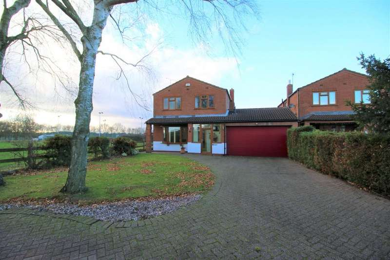 4 Bedrooms Detached House for sale in Brookfield Drive , Wolvey