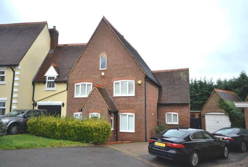 4 Bedrooms Town House for sale in Church Field, Epping