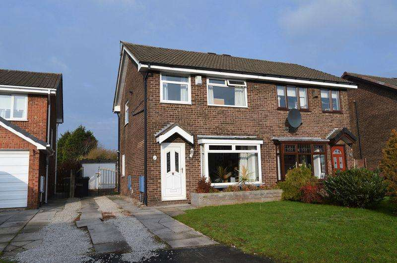3 Bedrooms Semi Detached House for sale in Stone Pit Close, Lowton, WA3 2TD
