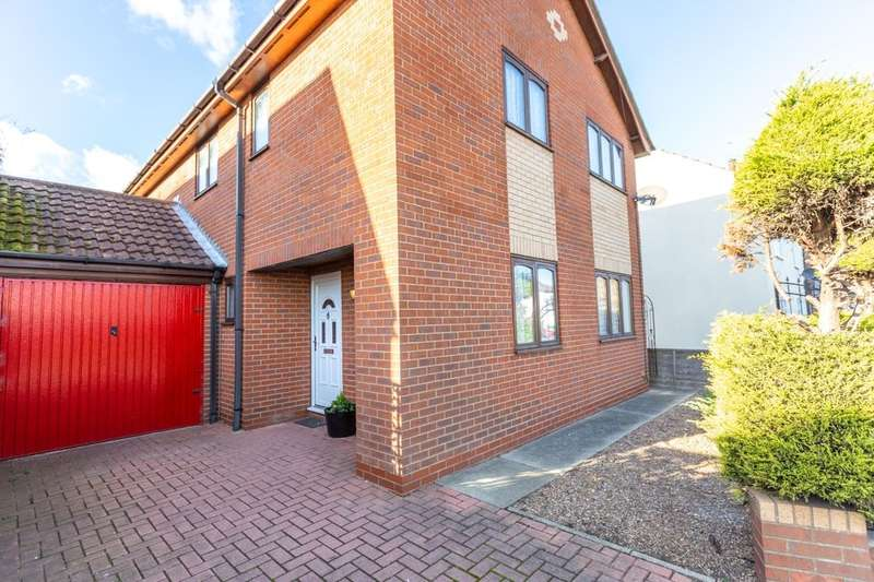 3 Bedrooms Detached House for sale in Townside, East Halton, Immingham, DN40