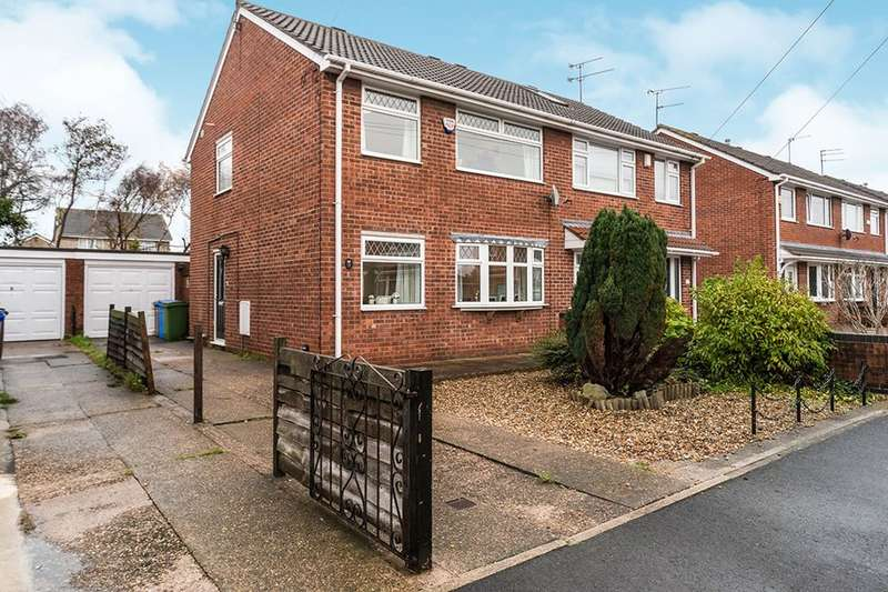 3 Bedrooms Semi Detached House for sale in Normanton Rise, Hull, HU4