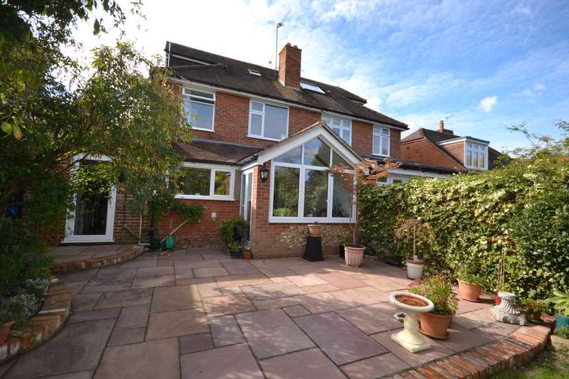 4 Bedrooms Semi Detached House for sale in Kidmore Road, Caversham Heights