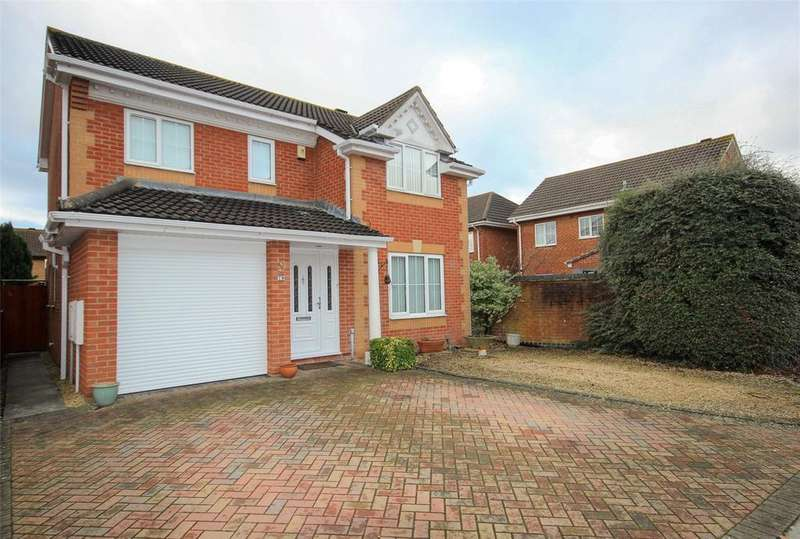 4 Bedrooms Detached House for sale in Meadow Way, Bradley Stoke, Bristol, BS32