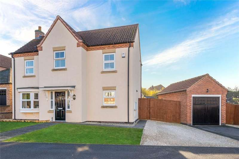 4 Bedrooms Detached House for sale in Kinross Road, Sleaford, Lincolnshire, NG34