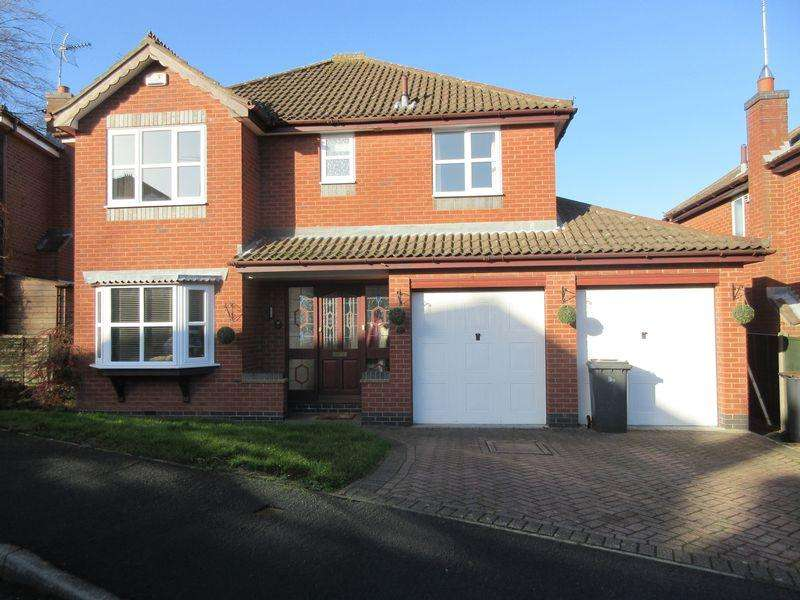 5 Bedrooms Detached House for sale in Pares Close, Whitwick