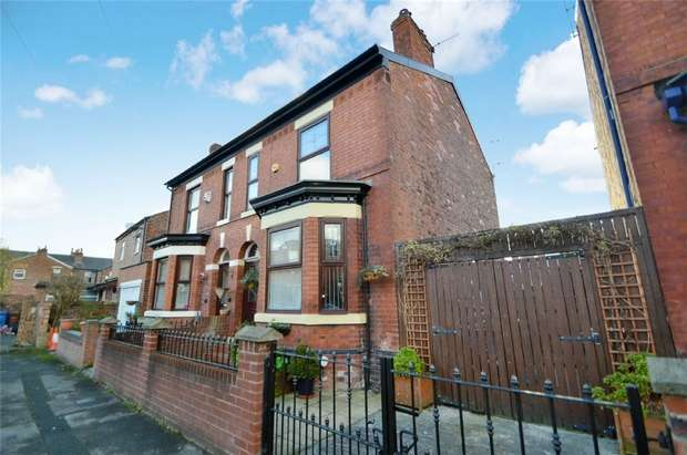 3 Bedrooms Semi Detached House for sale in Lowfield Grove, Shaw Heath, Stockport, Cheshire