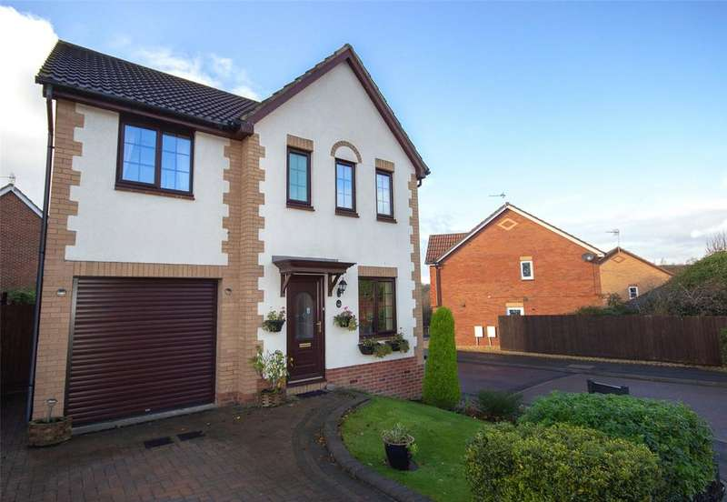 4 Bedrooms Detached House for sale in Juniper Way, Bradley Stoke, Bristol, BS32