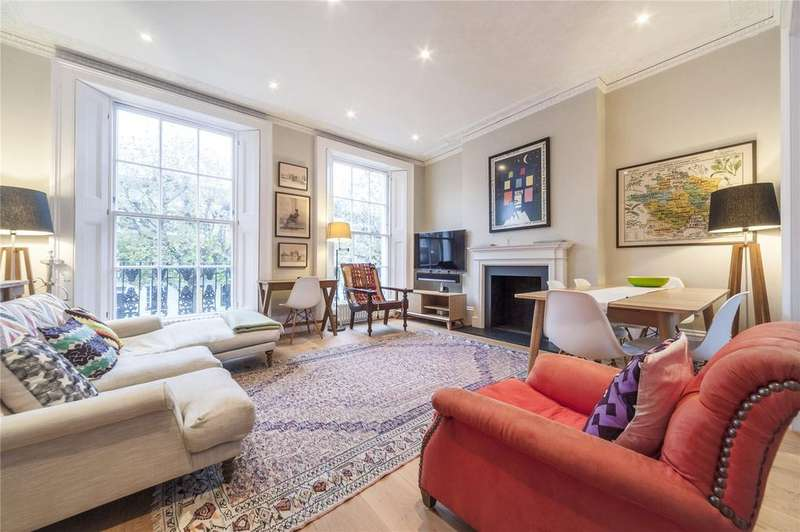 2 Bedrooms Maisonette Flat for sale in Albert Street, London