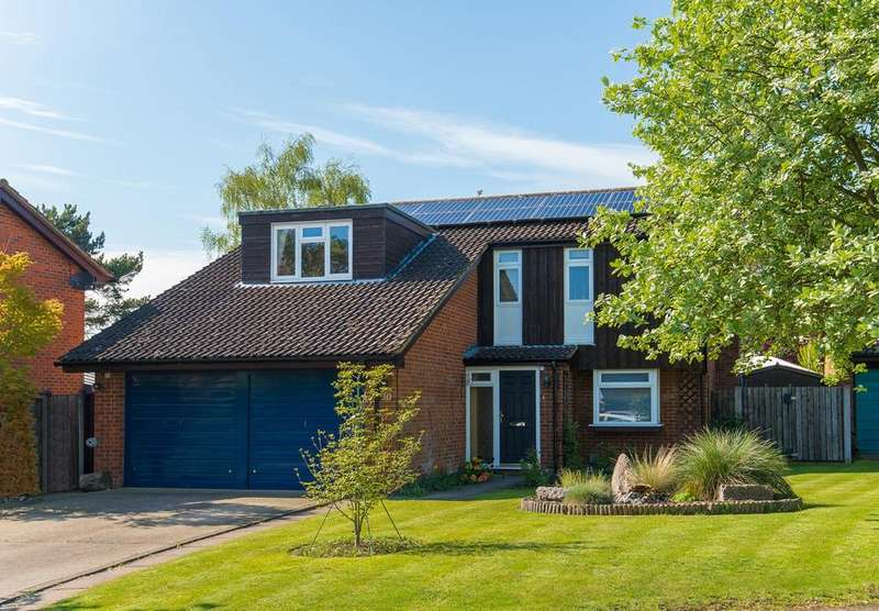 4 Bedrooms Detached House for sale in Aubreys, Letchworth Garden City, SG6