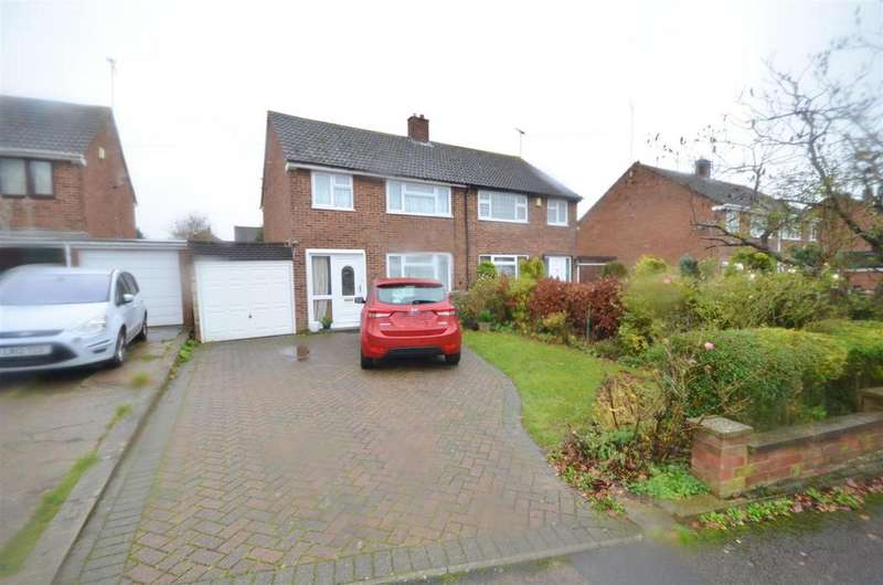 3 Bedrooms Semi Detached House for sale in Mendip Way, Luton