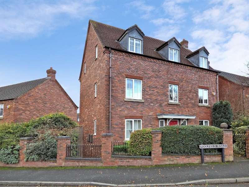 5 Bedrooms Detached House for sale in Poolfield Road, Lichfield