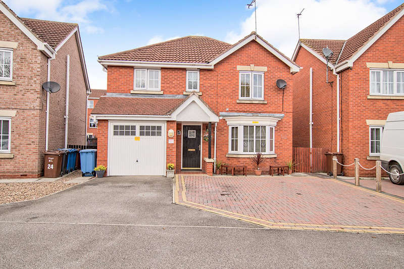 4 Bedrooms Detached House for sale in Oxford Violet, Sutton Park, Hull, HU7