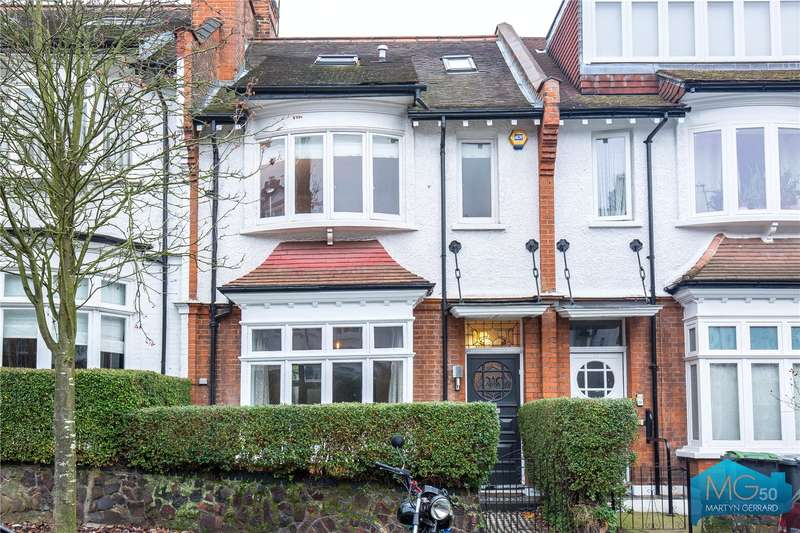 4 Bedrooms Terraced House for sale in Milton Park, London, N6