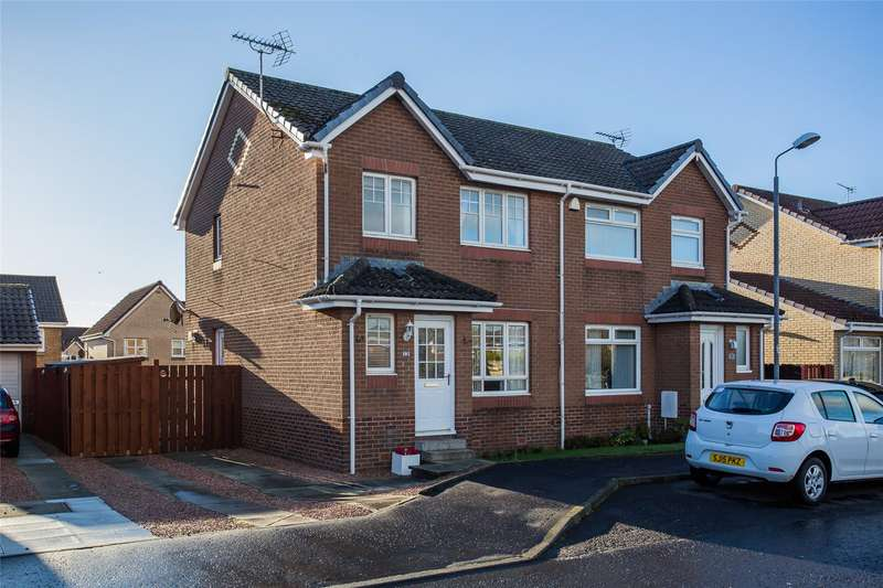 3 Bedrooms Semi Detached House for sale in Corsankell Wynd, Saltcoats, North Ayrshire, KA21