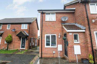 2 Bedrooms End Of Terrace House for sale in Goldcrest Close, Luton, Bedfordshire, England