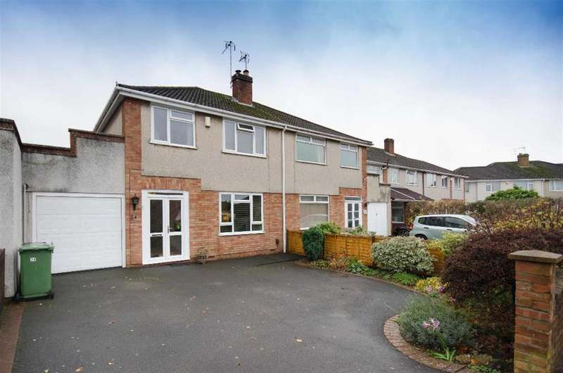 3 Bedrooms Semi Detached House for sale in Lulworth Crescent, Downend, Bristol, BS16 6SB