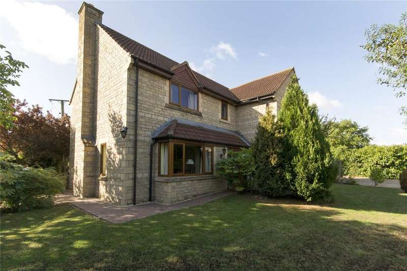 4 Bedrooms Detached House for sale in Ellerby Mead, Swayfield, Grantham, Lincolnshire