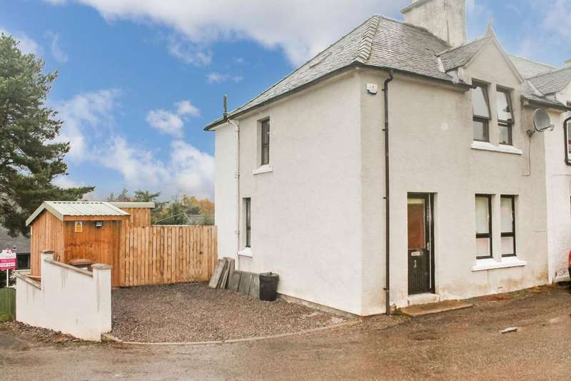 3 Bedrooms Terraced House for sale in Ardival Terrace, Strathpeffer