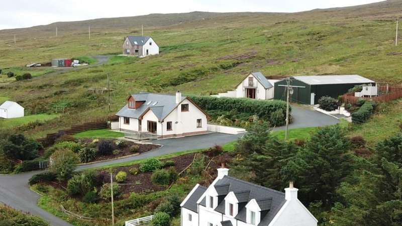 4 Bedrooms Detached House for sale in Geary, Waternish, Isle of Skye IV55