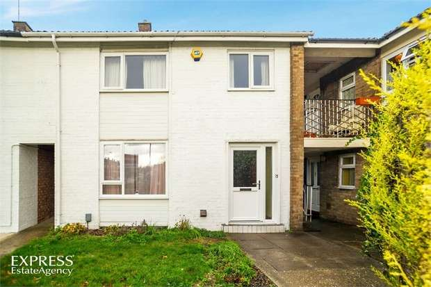 3 Bedrooms End Of Terrace House for sale in Eddiwick Avenue, Houghton Regis, Dunstable, Bedfordshire