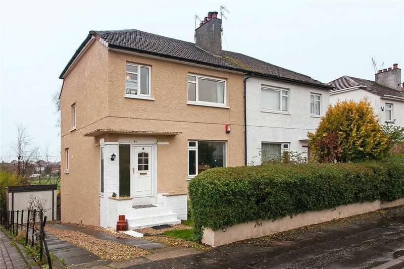 3 Bedrooms Semi Detached House for sale in Whitton Drive, Giffnock, Glasgow