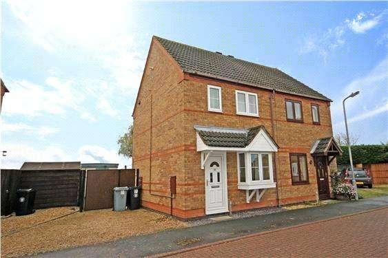 2 Bedrooms Semi Detached House for sale in Primrose Close, Morton, Bourne, PE10