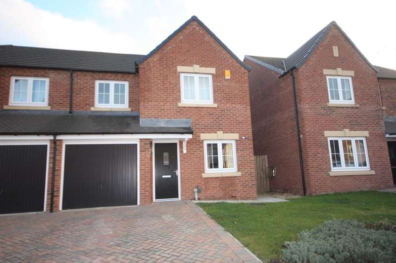 3 Bedrooms Semi Detached House for sale in Bilsdale Gardens, Guisborough, TS14