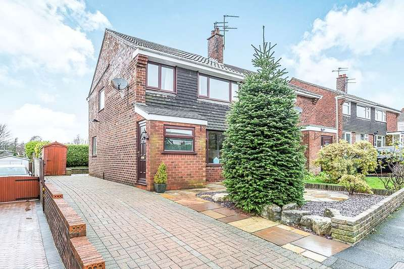 3 Bedrooms Semi Detached House for sale in Woodnook Road, Appley Bridge, Wigan, WN6