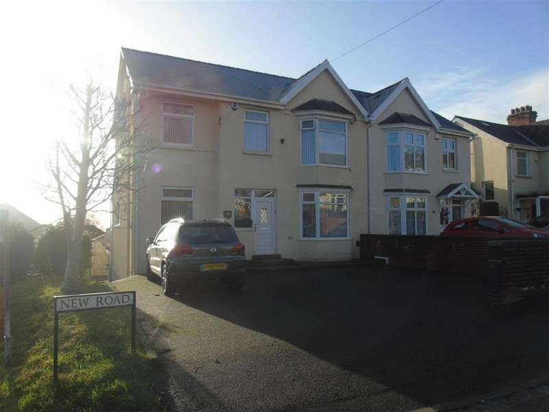 4 Bedrooms Semi Detached House for sale in New Road, Treboeth, Swansea