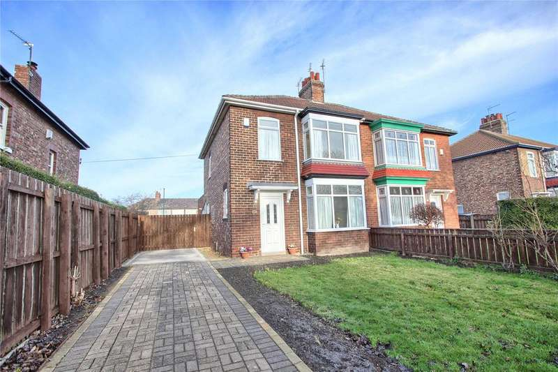 3 Bedrooms Semi Detached House for sale in Westfield Avenue, Redcar