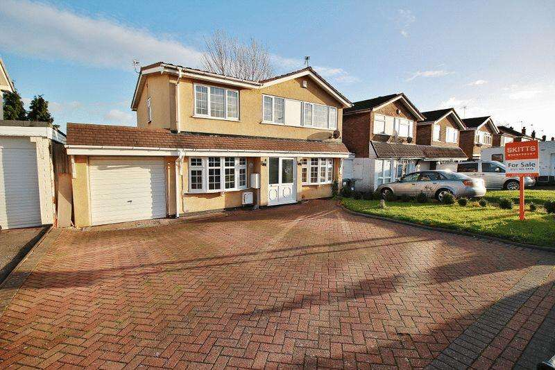 4 Bedrooms Detached House for sale in Westmore Way, Wednesbury