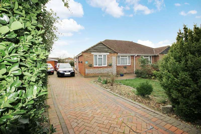 3 Bedrooms Semi Detached Bungalow for sale in Netley Road, Titchfield Common