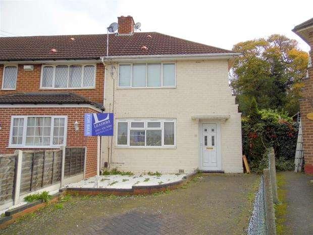 2 Bedrooms End Of Terrace House for sale in Playdon Grove, Warstock, Birmingham