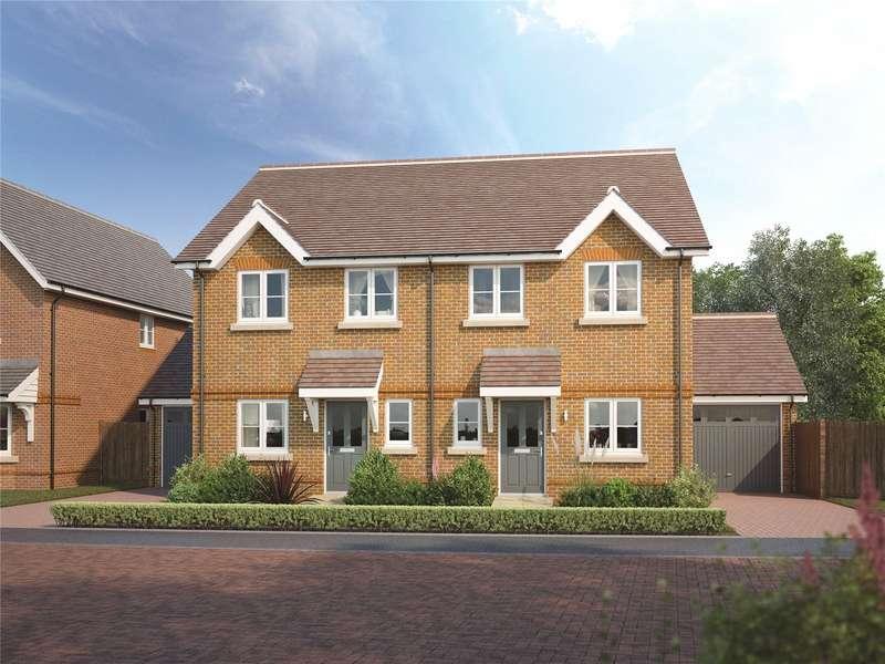 3 Bedrooms Semi Detached House for sale in Oaks Meadow, West End, Woking, Surrey, GU24