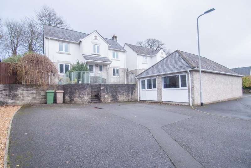 4 Bedrooms Detached House for sale in Tamerton Foliot, Plymouth