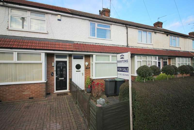 2 Bedrooms Terraced House for sale in Applecroft Road, Luton, Bedfordshire, LU2 8BB