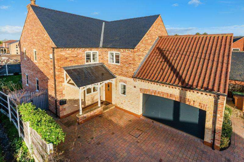 4 Bedrooms Detached House for sale in Quince House, Cross Street, Potterhanworth