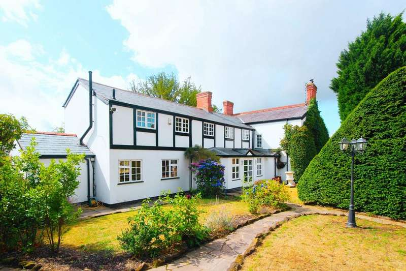4 Bedrooms Detached House for sale in West Road, Weaverham, CW8
