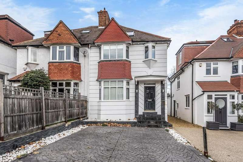 4 Bedrooms Semi Detached House for sale in Augustus Road, Southfields