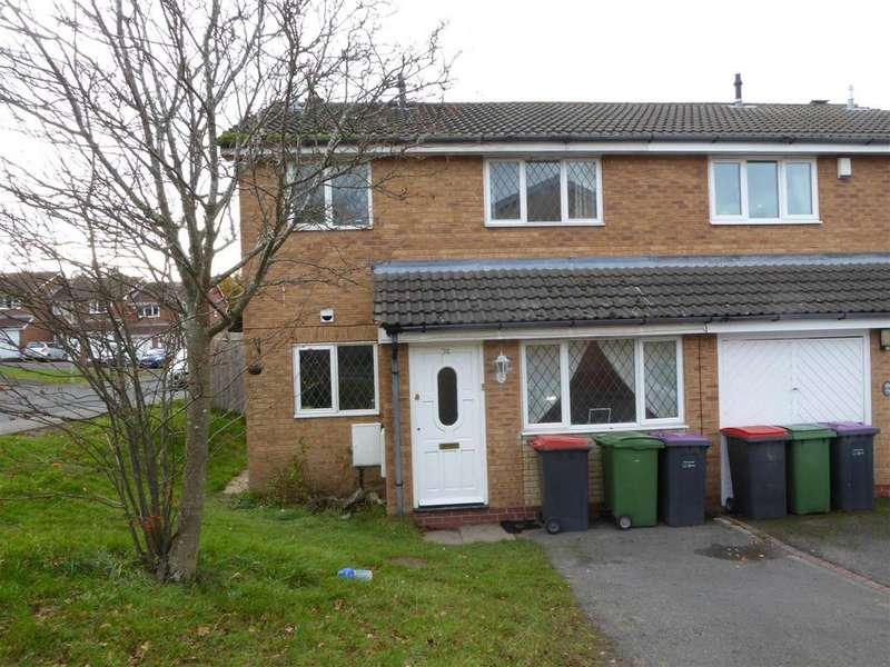 3 Bedrooms Terraced House for sale in Charlecote Park, Telford