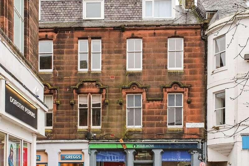1 Bedroom Flat for sale in Queensberry Street, Dumfries, DG1