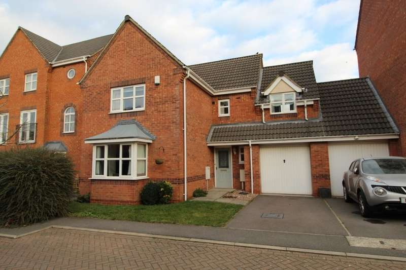 4 Bedrooms Detached House for sale in Brouder Close, Coalville, LE67