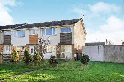 3 Bedrooms End Of Terrace House for sale in Glenfall, Yate, Bristol, South Gloucestershire