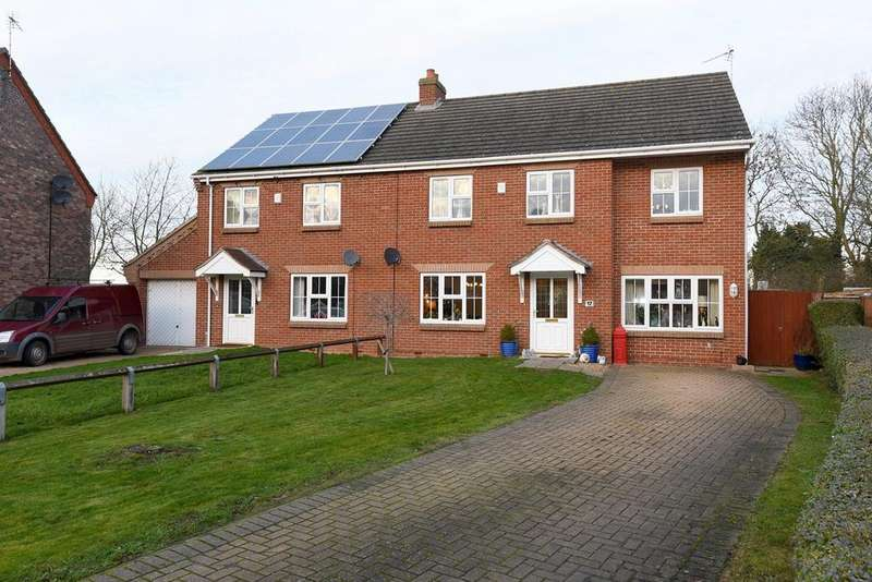 4 Bedrooms Semi Detached House for sale in Strawberry Fields Drive, Holbeach St Marks, PE12