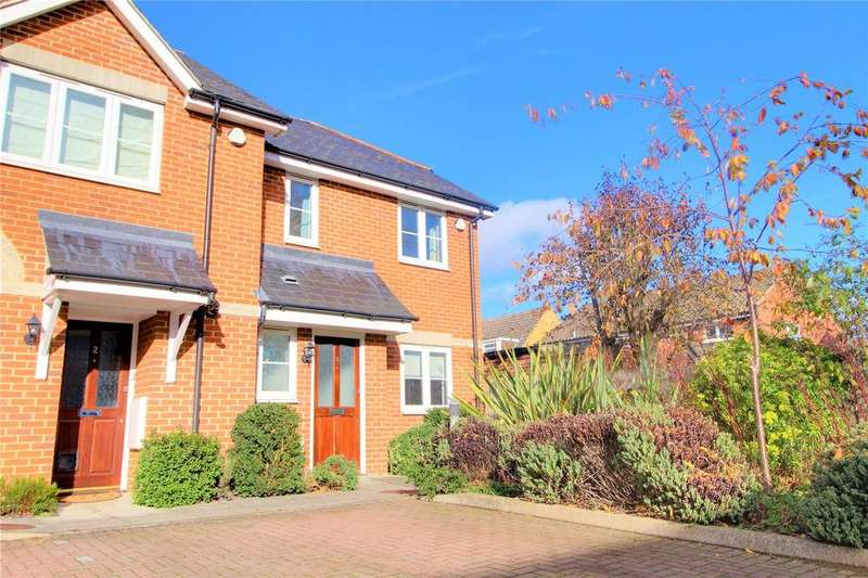 3 Bedrooms End Of Terrace House for sale in Bucknell Court, Reading, Berkshire, RG1