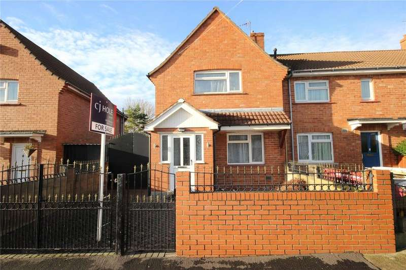 2 Bedrooms End Of Terrace House for sale in Ringwood Crescent, Southmead, Bristol, BS10