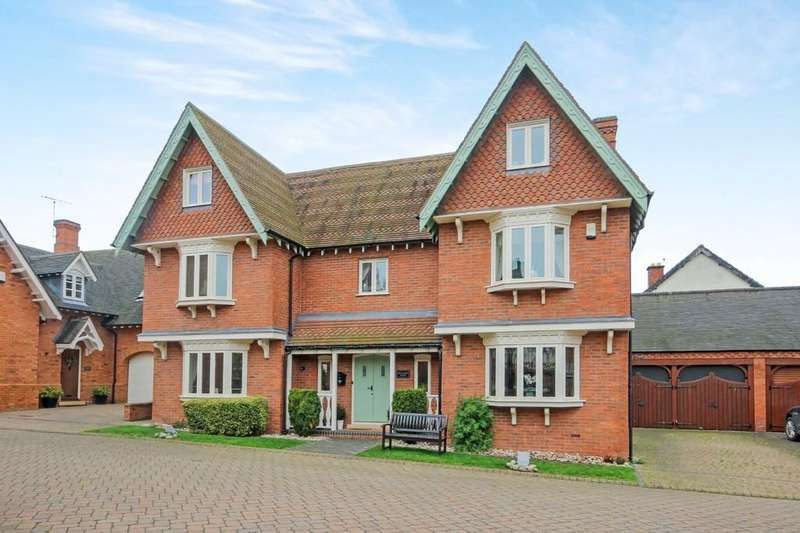 5 Bedrooms Detached House for sale in Tuckwood Court, Wysall